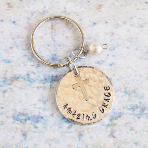 Keyring - Amazing Grace