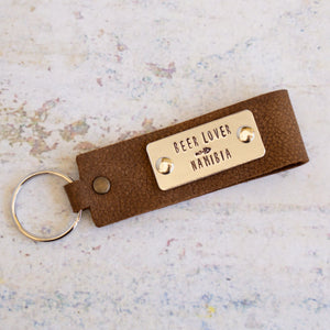 Keyring - Beer Lover