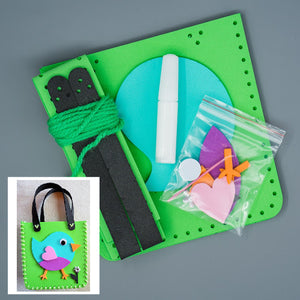 Craft Kit - Bird Handbag