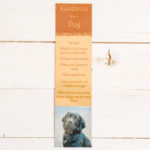 Bookmark - Guidance from a Dog