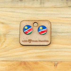 Earrings - Nam Flag Circle