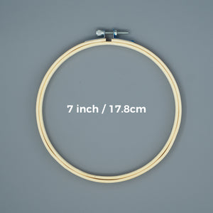 Embroidery Hoop - 7inch/17.8cm