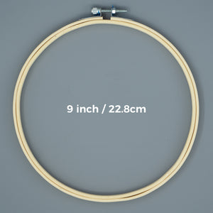 Embroidery Hoop - 9inch/22.8cm