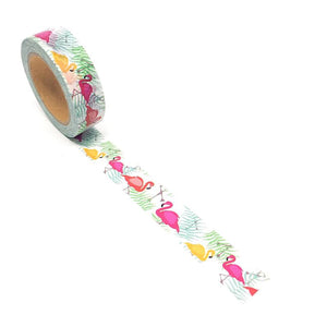 Washi Tape - Flamingos