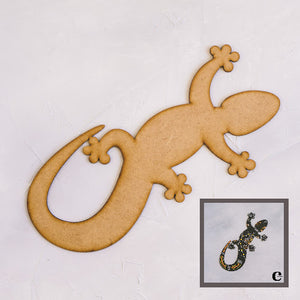 Wood Blank - Gecko