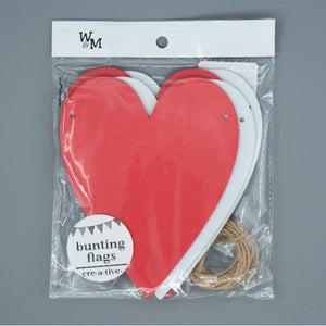 Craft Kit - Heart Bunting Flags