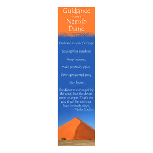 Bookmark - Guidance from a Namib Dune