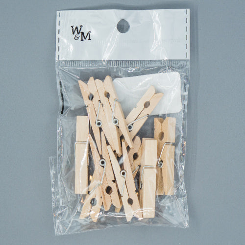 Natural Pegs - 4.5cm
