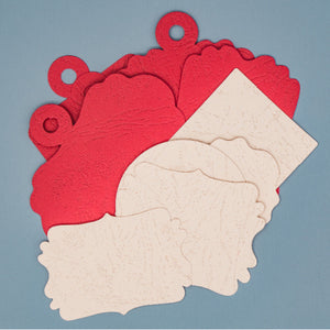 Die-Cut Graphics - Red/Pink