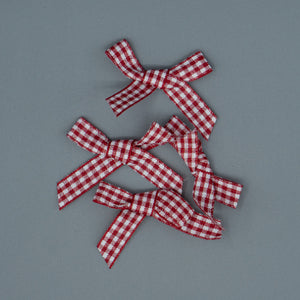 Bows - Red Checkered