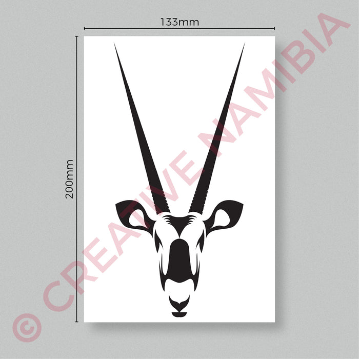 VINYL STICKER - ORYX HEAD