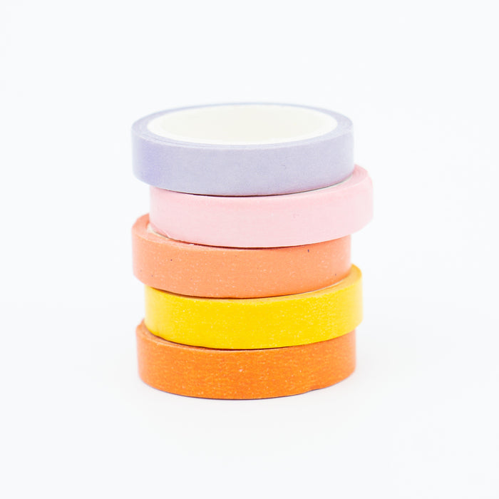 Washi Tape - Slim Pastel Set