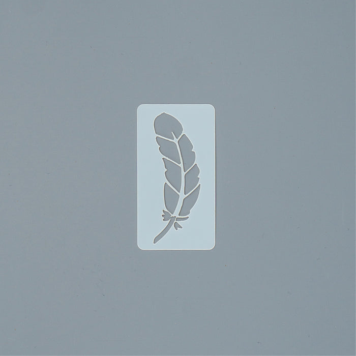 Stencil - Tiny Feather
