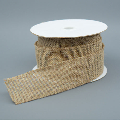 Hessian Ribbon - Wide
