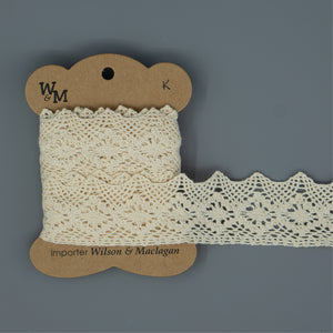 Torchon Lace - Beige Edging K