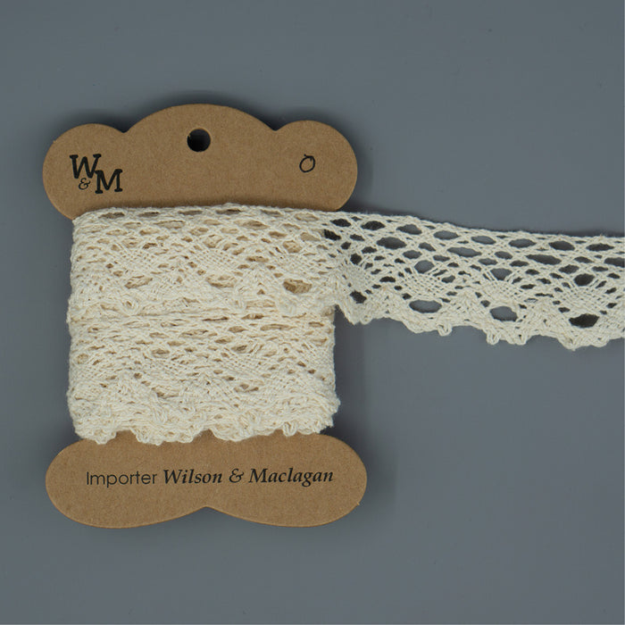 Torchon Lace - Beige Edging O