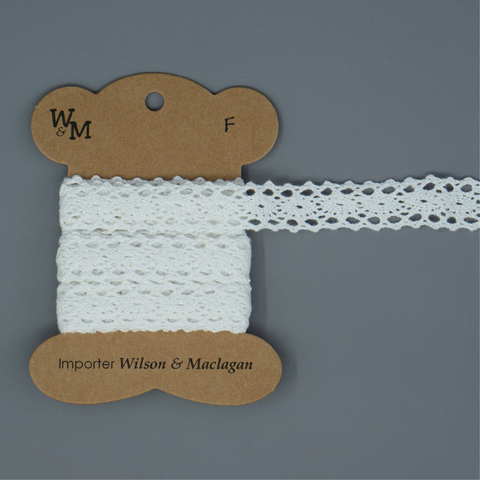 Torchon Lace - White Insert F