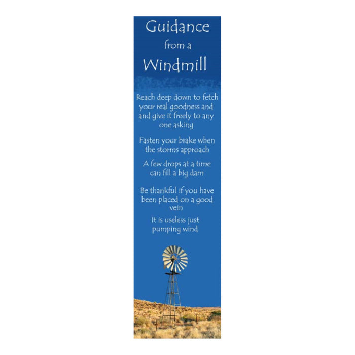Bookmark - Guidance from a Windmill