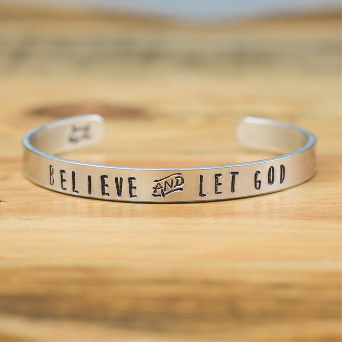Bangle - Believe and let God