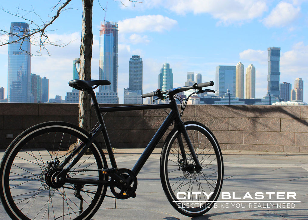 City Blaster - electric bike for city