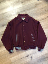 Load image into Gallery viewer, Vintage L.L.Bean Wine Bomber Jacket