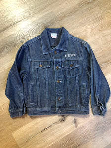 Guess Medium Wash Denim Jacket