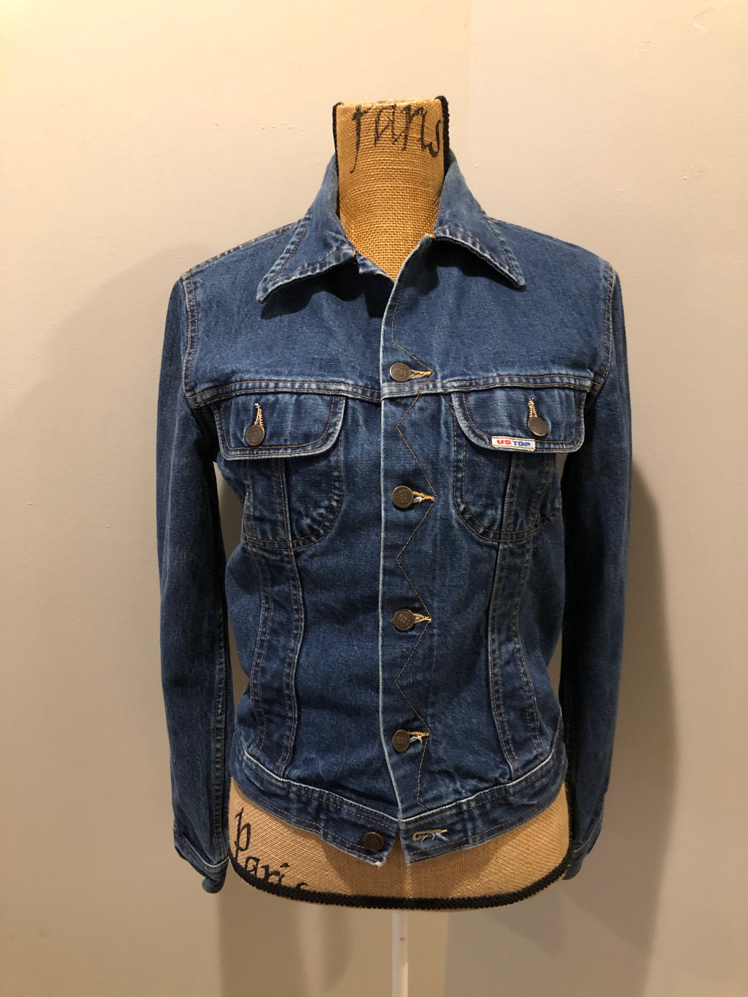 Vintage US Top Medium Wash Denim Jacket
