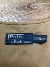 Load image into Gallery viewer, Ralph Lauren brown corduroy vest with button closures, four patch pockets and two inside pockets.