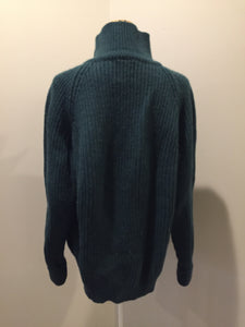 Great Northern Knitters Green Wool Sweater