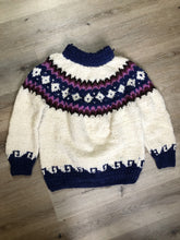 Load image into Gallery viewer, Vintage Handknit Wool Lopi Sweater