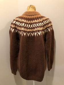 Handknit Lopi Sweater