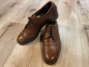 Wingtip Brogue Eaton Sanitized Derby Shoes 8M 41 (Canada)