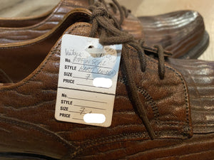 Very Rare Hartt Derby Shoes 7M 39/40 (Canada)