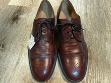Load image into Gallery viewer, Cap Toe Brogue Red Shoe Derby Shoes 6M 38/39