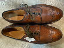 Load image into Gallery viewer, Wingtip Brogue Alan McAfee Derby Shoes 6M 38/39 (England)