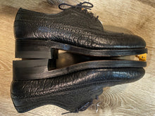 Load image into Gallery viewer, Wingtip Brogue Hector La Montagne Protective Derby Shoe 7M 39/40 (Canada)