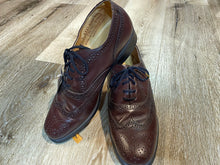 Load image into Gallery viewer, Wingtip Brogue Eaton Birkdale Oxford Shoes 7M 39/40 (Czechoslovakia)