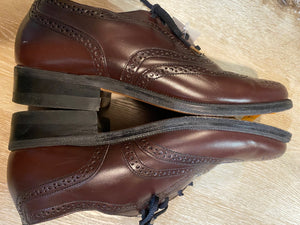 Wingtip Brogue Eaton Birkdale Oxford Shoes 7M 39/40 (Czechoslovakia)