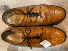 Load image into Gallery viewer, Wingtip Brogue Florsheim Derby Shoes 8M 41 (Mexico)