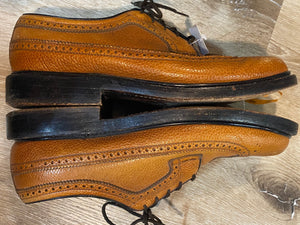 Wingtip Brogue Florsheim Derby Shoes 8M 41 (Mexico)