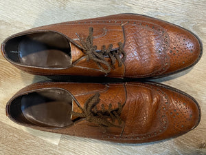 Wingtip Brogue Florsheim Derby Shoes 9M 42 (Canada)