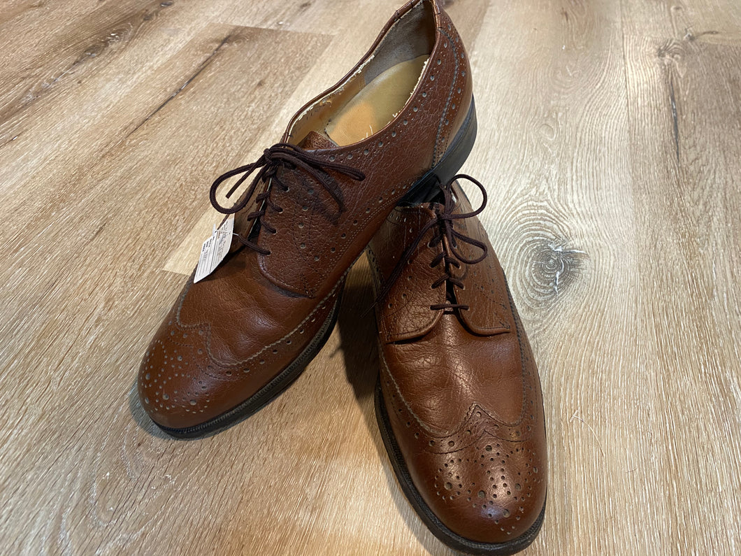 Wingtip Brogue Sears VIP Derby Shoes 9M 42 (Canada)
