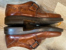 Load image into Gallery viewer, Johnston & Murphy Passport Monk Strap Shoes 8.5M 41/42 (Italy)