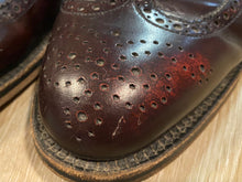Load image into Gallery viewer, Wingtip Brogue Dack's Derby Shoes 9M 42 (Mexico)