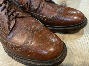 Wingtip Brogue Bondstreet by Dack's Derby Shoes 9.5M 42/43 (Canada)