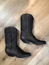 Load image into Gallery viewer, Commanchero Black Cowboy Boot