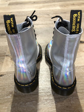 Load image into Gallery viewer, Doc Martens Holographic Silver 1460 Boot