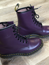 Load image into Gallery viewer, Doc Martens Purple 1460 Boot