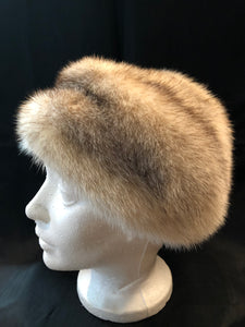 Vintage Kates Boutique Blonde Mink Fur Hat