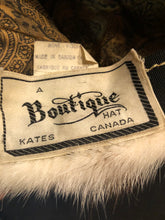 Load image into Gallery viewer, Vintage Kates Boutique Blonde Mink Fur Hat
